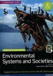 SHELF 9781447990420, Environmental Systems and Societies 2nd Edition textbook   eText bundle SAMPLE40