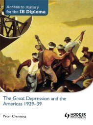 SHELF 9781444156539, Access to History for the IB Diploma The Great Depression and the Americas SAMPLE40