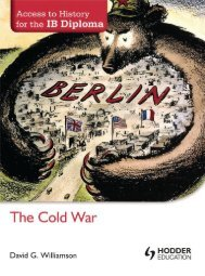 SHELF 9781444156478, Access to History for the IB Diploma The Cold War SAMPLE40