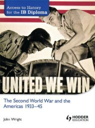 SHELF 9781444156560, Access to History for the IB Diploma The Second World War and the Americas 1933-45 SAMPLE40