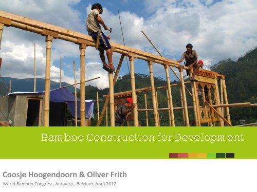 Coosje Hoogendoorn & Oliver Frith - World Bamboo