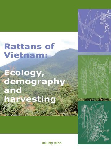 Rattans of Vietnam: Ecology, demography and harvesting