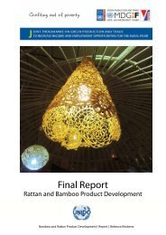 Final Report Bamboo and Rattan Sector as on 21st April ... - unido