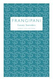 Frangipani Guest Collection 2019-2020