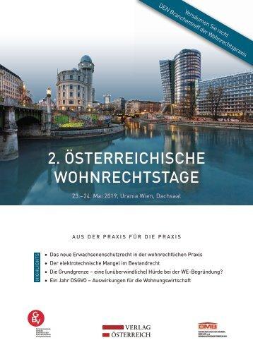 2. Österreichische Wohnrechtstage