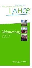 Männertag 2012 - Bibelkonferenzstätte Langensteinbacher  Höhe