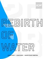 Rebirth of Water 2018-2019