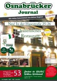 Osnabrücker Journal - Frühjahr 2019