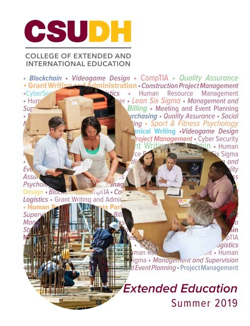 Summer 2019 CSUDH Extended Education Catalog (Interactive)