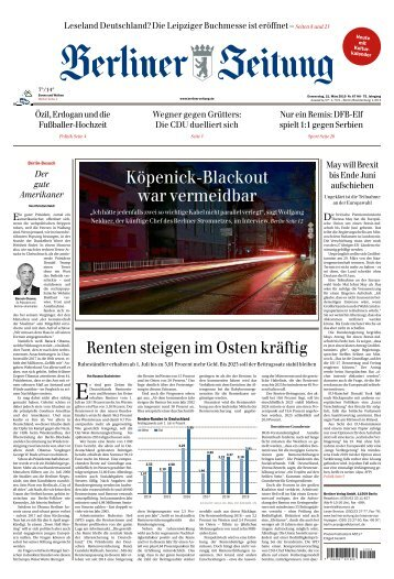 Berliner Zeitung 21.03.2019