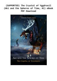 (SUPPORTED) The Crystal of Yggdrasil (Aki and the Spheres of Time, #1) eBook PDF Download