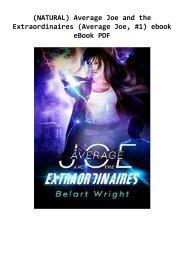 (NATURAL) Average Joe and the Extraordinaires (Average Joe, #1) ebook eBook PDF