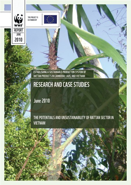 report on the potentials and unsustainability of rattan sector ... - WWF
