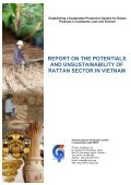 report on the potentials and unsustainability of rattan sector ... - WWF - Page 2