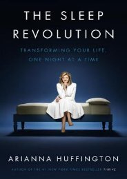 (BARGAIN) The Sleep Revolution: Transforming Your Life, One Night at a Time eBook PDF Download