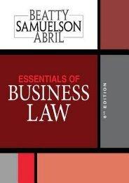 (SPIRITED) Essentials of Business Law eBook PDF Download