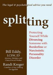 (SPIRITED) Splitting: Protecting Yourself While Divorcing Someone with Borderline or Narcissistic Personality Disorder eBook PDF Download