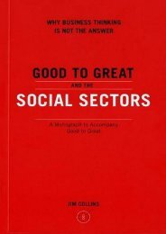 (SECRET PLOT) Good to Great and the Social Sectors: A Monograph to Accompany Good to Great eBook PDF Download