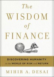 (FUNNY) The Wisdom of Finance: Discovering Humanity in the World of Risk and Return eBook PDF Download