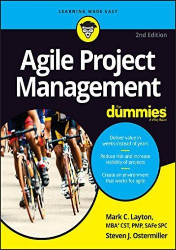 -PDF-Download-Agile-Project-Management-For-Dummies-For-Dummies-Computer-Tech--by-Mark-C-Layton-Read-online