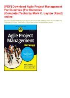 -PDF-Download-Agile-Project-Management-For-Dummies-For-Dummies-Computer-Tech--by-Mark-C-Layton-Read-online - Page 2