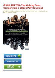 (EXHILARATED) The Walking Dead, Compendium 3 eBook PDF Download