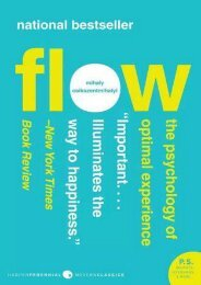 (RECOMMEND) Flow: The Psychology of Optimal Experience eBook PDF Download