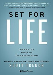 [Download] Free Set for Life: Dominate Life, Money, and the American Dream by Scott Trench Full ONLINE
