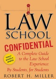 (SECRET PLOT) Law School Confidential: A Complete Guide to the Law School Experience: By Students, for Students eBook PDF Download