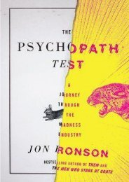 (GRATEFUL) The Psychopath Test: A Journey Through the Madness Industry eBook PDF Download