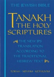 (MEDITATIVE) Tanakh: The Holy Scriptures eBook PDF Download