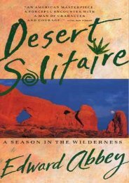 (MEDITATIVE) Desert Solitaire: A Season in the Wilderness eBook PDF Download