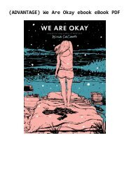 (ADVANTAGE) We Are Okay ebook eBook PDF