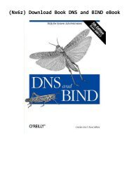 (Nx6z) Download Book DNS and BIND eBook