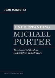 [READ] Understanding Michael Porter: The Essential Guide to Competition and Strategy by Joan Magretta Ebook_READ ONLINE
