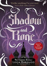 (RECOMMEND) Shadow and Bone (Shadow and Bone, #1) eBook PDF Download