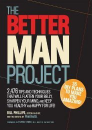 (RECOMMEND) The Better Man Project: 2,476 tips and techniques that will flatten your belly, sharpen your mind, and keep you healthy and happy for life! eBook PDF Download