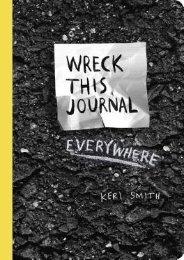 (SECRET PLOT) Wreck This Journal Everywhere eBook PDF Download
