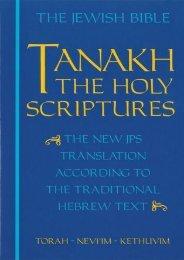 (MEDITATIVE) Tanakh: The Holy Scriptures eBook PDF Download