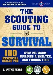 (SPIRITED) The Scouting Guide to Survival: An Official Boy Scouts of America Handbook: More than 200 Essential Skills for Staying Warm, Building a Shelter, and Signaling for Help eBook PDF Download