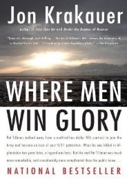 (GRATEFUL) Where Men Win Glory: The Odyssey of Pat Tillman eBook PDF Download