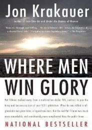 (GRATEFUL) Where Men Win Glory: The Odyssey of Pat Tillman eBook PDF Download
