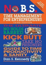 (SECRET PLOT) No B.S. Time Management for Entrepreneurs: The Ultimate No Holds Barred Kick Butt Take No Prisoners Guide to Time Productivity and Sanity eBook PDF Download