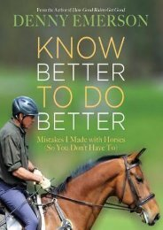 (STABLE) Know Better to Do Better: Mistakes I Made with Horses (So You Don't Have To) eBook PDF Download