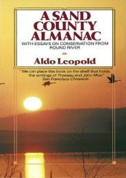 (RECOMMEND) A Sand County Almanac: With Essays on Conservation from Round River eBook PDF Download