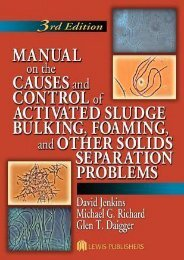 (TRUTHFUL) Manual on the Causes and Control of Activated Sludge Bulking, Foaming, and Other Solids Seperation Problems eBook PDF Download