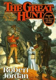 (RECOMMEND) The Great Hunt (Wheel of Time, #2) eBook PDF Download