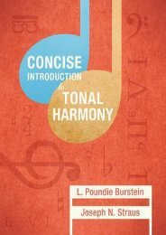 (GRATEFUL) Concise Introduction to Tonal Harmony eBook PDF Download
