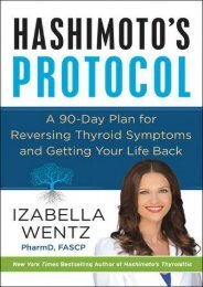 (TRUTHFUL) Hashimoto's Protocol: A 90-Day Plan for Reversing Thyroid Symptoms and Getting Your Life Back eBook PDF Download