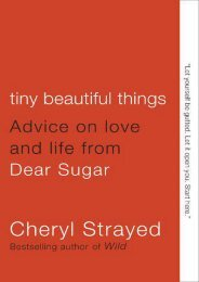 (RECOMMEND) Tiny Beautiful Things: Advice on Love and Life from Dear Sugar eBook PDF Download